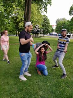 Living statue exercise // Elävä patsas -harjoite